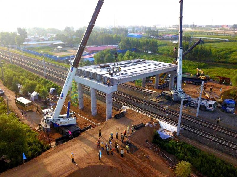 改造完成后对完善路网结构,优化铁路运输组织和资源配置,推动龙江陆海