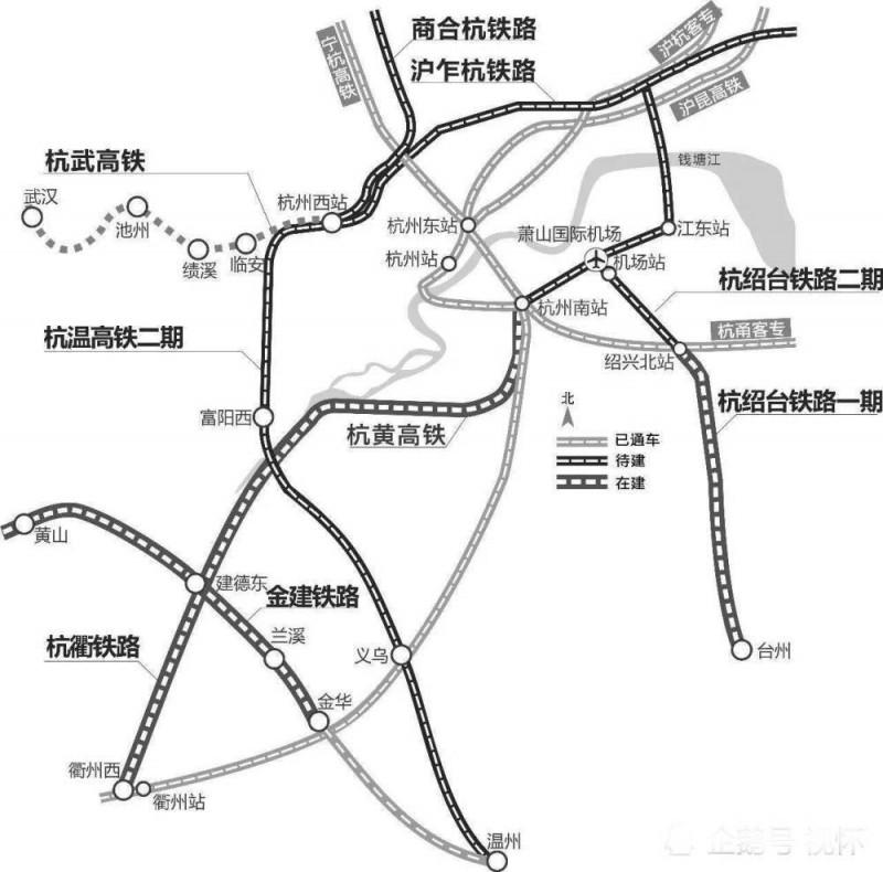 『浙江』高铁规划通苏嘉甬、甬舟、沪苏湖、衢丽等铁路动工建设(图11)