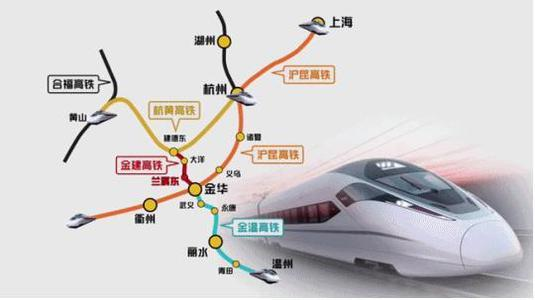『浙江』高铁规划通苏嘉甬、甬舟、沪苏湖、衢丽等铁路动工建设(图19)