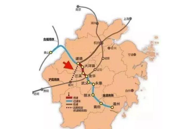 『浙江』高铁规划通苏嘉甬、甬舟、沪苏湖、衢丽等铁路动工建设(图24)