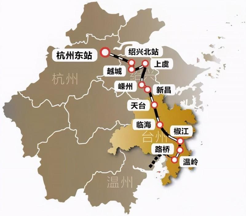 『浙江』高铁规划通苏嘉甬、甬舟、沪苏湖、衢丽等铁路动工建设(图23)