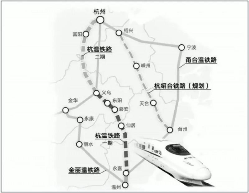 『浙江』高铁规划通苏嘉甬、甬舟、沪苏湖、衢丽等铁路动工建设(图16)
