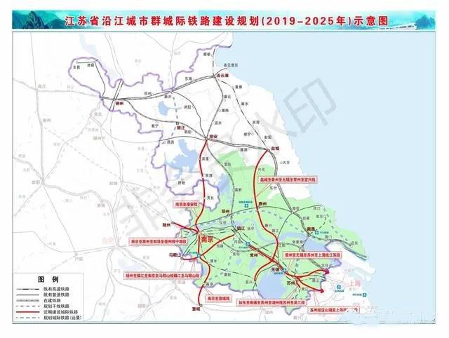 『江苏』交通重点项目3年推进计划,19条铁路开工时间明确(图1)